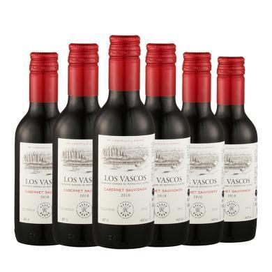 拉菲进口红酒整箱 小瓶红酒 巴斯克卡本妮 干红葡萄酒 187ml*6