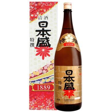 日本清酒 原装进口 日本盛 日本盛特选本酿造清?#35780;?#30418;装1.8L