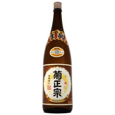 日本原装进口 菊正宗 上选清酒 1.8L 日本酒米?#39057;投?#27915;酒 1800ml
