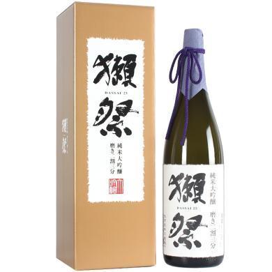 獭祭23 日本清酒 纯米大吟酿二割三分 1.8L