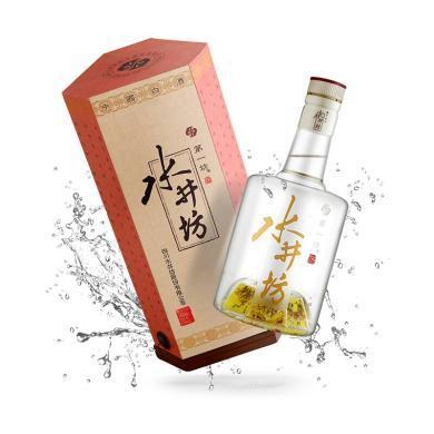 正品保證 水井坊 井臺瓶 52度白酒 500ml 單瓶裝