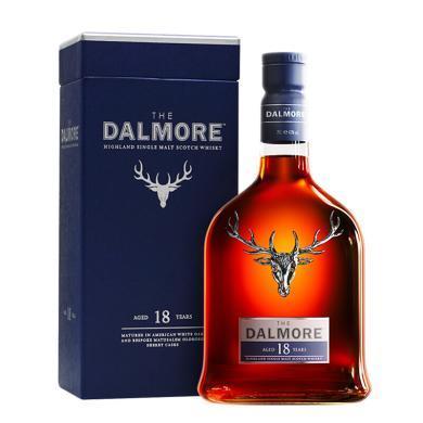 帝摩(The Dalmore) 洋酒 英國進口純麥威士忌 蘇格蘭單一麥芽威士忌 18年 700ml