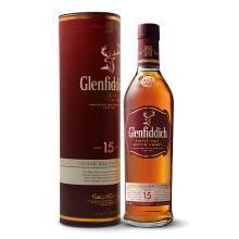 格蘭菲迪(Glenfiddich)15年蘇格蘭達夫鎮單一麥芽威士忌700ml 進口洋酒