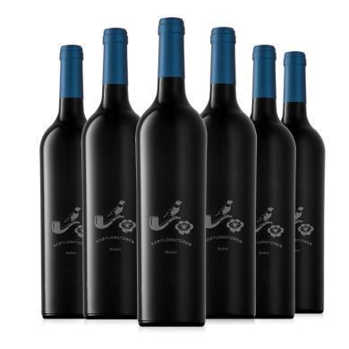 【高性價比 天階莊園】南非原瓶進口紅酒 天階芭貝干紅葡萄酒12月橡木桶陳釀  750ml*6支整箱