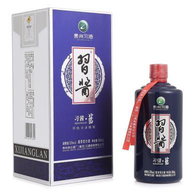 茅臺 集團 習酒 習醬 藍 53度 單瓶裝白酒500ml 口感醬香型