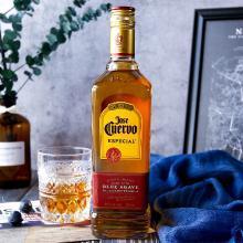 墨西哥進口洋酒豪帥快活 特基拉Tequila reposado特醇金標龍舌蘭酒豪帥金快活750ml