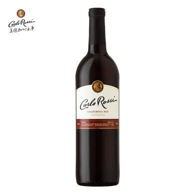 【超市红酒】美国加州乐事进口红酒 原瓶进口葡萄酒  750ml 柔顺红葡萄酒