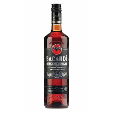 百加得(Bacardi ) 洋酒 朗姆酒 黑朗姆酒 750ml