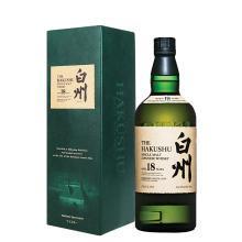 日本原裝進口洋酒 三得利白州單一麥芽威士忌 Suntory Hakushu 白州18年 700ml
