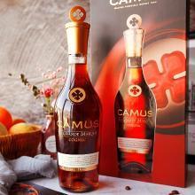 【新品上架】金花卡慕皇冠系列 干邑白蘭地 法國原裝進口洋酒禮盒裝 GMC 700ml