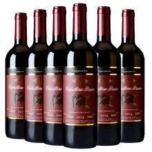 西班牙红葡萄酒干红 卡贝列*6瓶