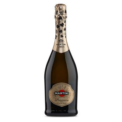 马天尼 (Martini)洋酒 起泡酒 普洛赛克Prosecco起泡酒 意大利进口 750ml