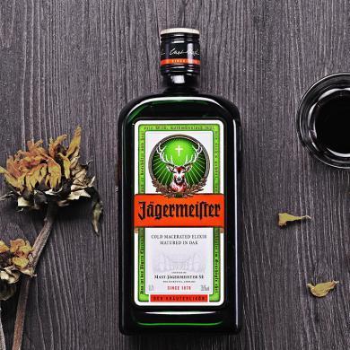 【野格力娇酒】 抖音同款野格利口酒 德国进口Jagermeister圣鹿力娇酒 洋酒700ml*单支