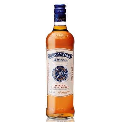 剑威苏格兰威士忌 蒸馏酒 CLAYMORE WHISKY 英国原装进口洋酒烈酒 700ml (单支)