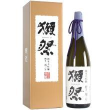 【清酒】獭祭 日本原装进口洋酒 日式清酒 纯米大吟酿 二割三分 1.8L