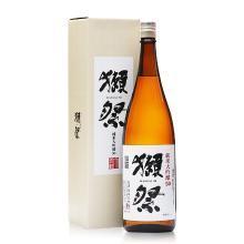 【清酒】獭祭 日本原装进口洋酒 日式清酒 纯米大吟酿 獭祭清酒五零 1.8L