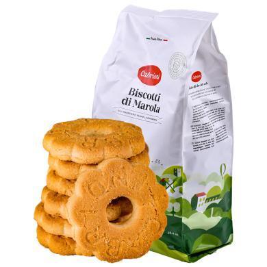 意大利進口 卡布萊妮(Cabrioni)花形原味曲奇餅750g 休閑零食糕點 辦公室零食