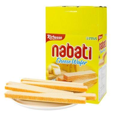 【包邮】印尼进口 丽芝士纳宝帝奶酪威化饼干200g*3盒
