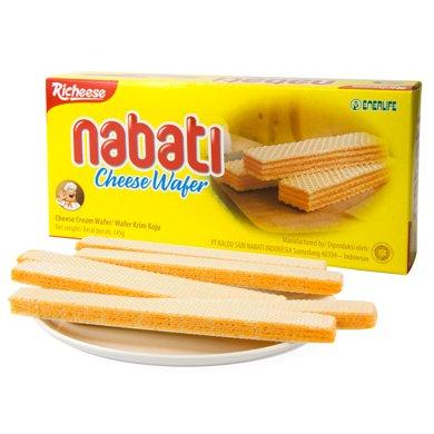 印尼进口 丽芝士Richeese 纳宝帝奶酪威化饼干 145g