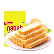 印尼进口 丽芝士Richeese纳宝帝奶酪?#34892;耐?#21270;饼干 休闲办公零食甜点下午茶点旅游户外