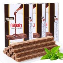 印尼進口 麗巧克納寶帝巧克力味威化餅干200g*3盒 辦公休閑零食品小吃夾心糕點組合