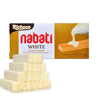 印尼進口 麗巧克香草味夾心威化餅干休閑零食品辦公小吃糕點