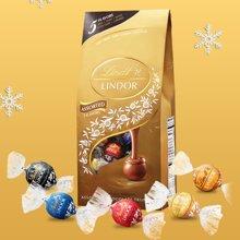 Lindt瑞士莲夹心巧克力软心球600g进口精选lindor混合5味喜糖 散装