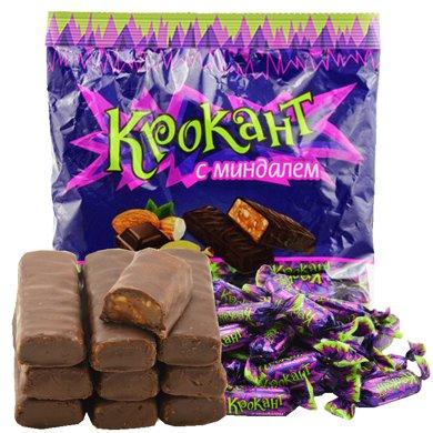 俄羅斯紫皮糖kpokaht巧克力元旦節糖果KDV500g喜散裝批發年貨