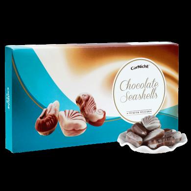 比利時進口 可尼斯CorNiche 貝殼形夾心巧克力禮盒裝390g 糖果生日圣誕節禮物