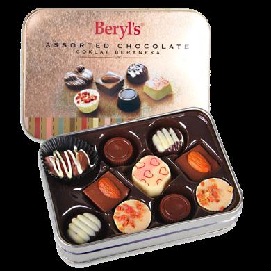 马来西亚进口 倍乐思beryls什锦巧克力85g 进口巧克力礼盒 婚庆喜糖果 休闲零食