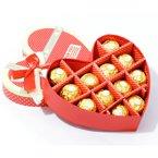 费列罗巧克力心形礼盒装12颗创意费雷罗巧克力情人节婚庆礼物