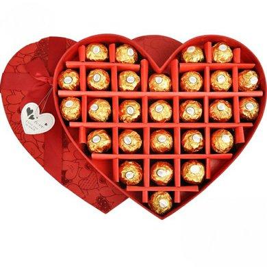 費列羅巧克力禮盒裝費雷羅巧克力節日禮物送女友禮物費力羅巧克力禮盒27粒裝