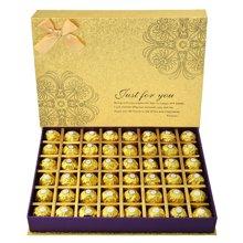 费?#26032;?#24039;克力礼盒装48粒 节日送女友生日巧克力礼盒顺丰包邮