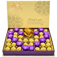费列罗巧克力礼盒装 费力罗情人节巧克力礼盒送女友520生日礼物月光礼盒28