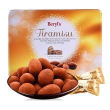马来西亚进口 倍乐思beryls 提拉米苏扁桃仁牛奶巧克力 200g 休闲零食品 生日/情人节礼物糖果 圣诞元旦礼物