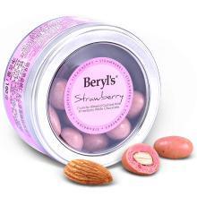 马来西亚进口倍乐思beryls  扁桃仁?#34892;?#30333;巧克力 草莓味100g/盒 糖果巧克力 情人节生日送礼 草莓?#34892;?#30333;巧克力