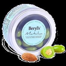 马来西亚进口倍乐思beryls  扁桃仁夹心白巧克力 绿茶味100g/盒 糖果巧克力 情人节生日送礼 绿茶夹心白巧克力