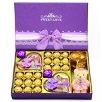 费列罗巧克力礼盒装 德芙巧克力礼盒装 送女友朋友家人生日节日礼物紫此一生顺丰包邮
