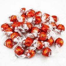 lindt瑞士莲巧克力软心球500g 喜庆红幼滑软心牛奶巧克力夹心喜糖巧克力球散装批发