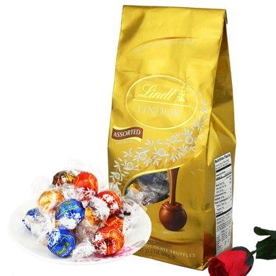 瑞士莲巧克力Lindt软心球巧克力600g散装进口喜糖教师节礼物