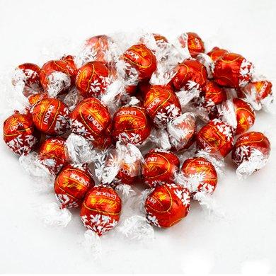 瑞士蓮/lindt進口軟心巧克力夾心1000g牛奶口味散裝結婚慶喜糖果