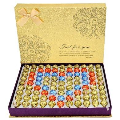 好時巧克力禮盒裝99好時kisses 巧克力送女友教師節禮物