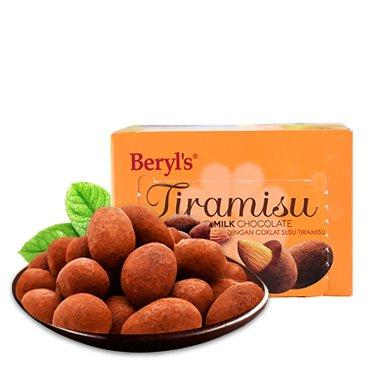 馬來西亞進口 倍樂思提拉米蘇扁桃仁牛奶巧克力 65g