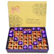 Lindt瑞士蓮巧克力禮盒裝瑞士蓮軟心巧克力禮盒送女友圣誕節禮物月光32