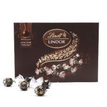 瑞士莲软心特浓黑巧克力(14粒装礼盒)(168g)