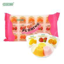 马来西亚进口 可康牌cocon 多口味果肉果冻 袋装果味布丁35g*15杯装 儿童零食品