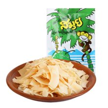 泰國進口SAMUI蘇梅椰子脆片40g椰子酥片 休閑零食品果干