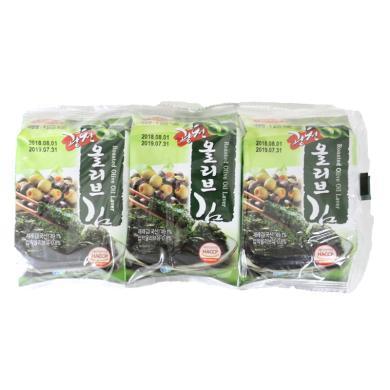 #广川橄榄油味海苔(12g)