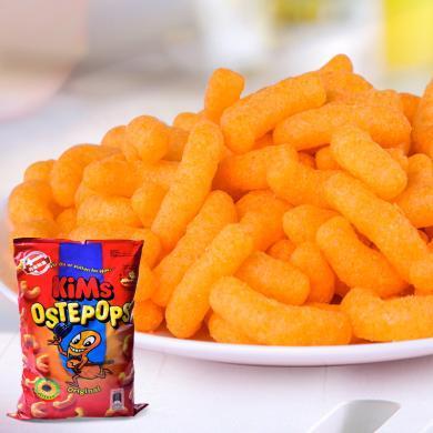 丹麦进口 KIMS芝士奶酪味玉米条140g休?#20449;?#21270;食品办公零食小吃