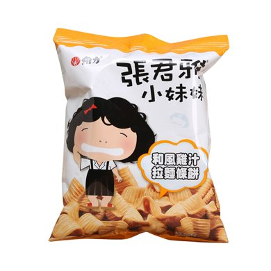 张君雅小妹妹拉面条饼(鸡肉风味(65g)